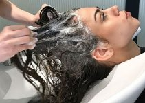 clarifying shampoo to eliminate residues