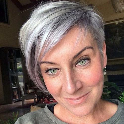 dejarse el pelo gris