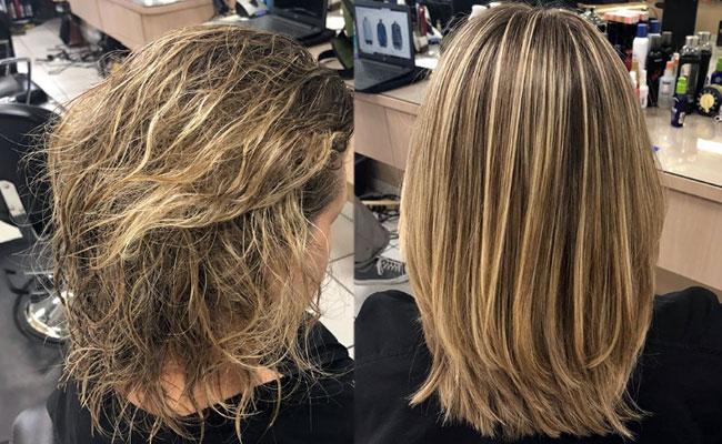 pelo sin frizz y liso