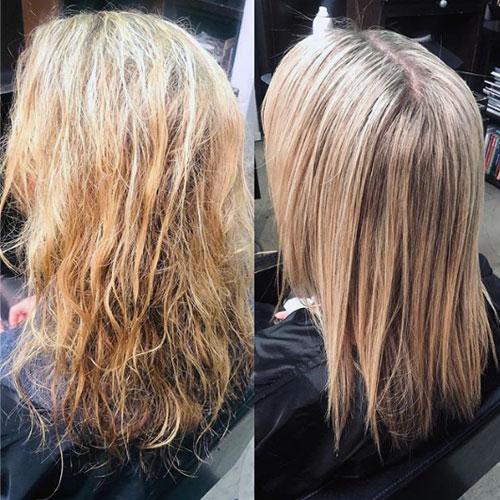 tratamiento de botox en peluqueria