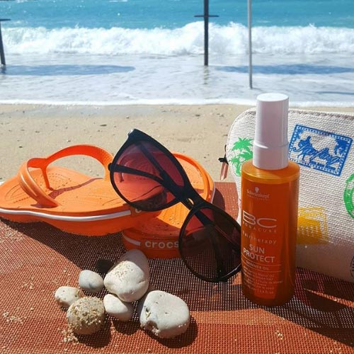 protect hair from the sun