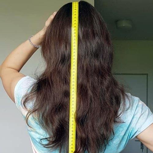 cuanto crece el pelo por mes