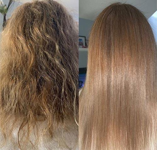 tratamiento profesional de peluqueria