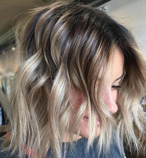después de decolorar el pelo