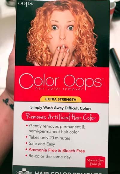 funciona con tintes morados, rojos o azules