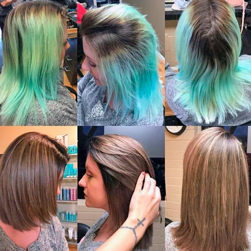 What Color To Dye Over Green Hair Here S Everything You Need To Know Before Dying Your Hair