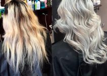 hair with light highlights