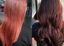 faded hair dye