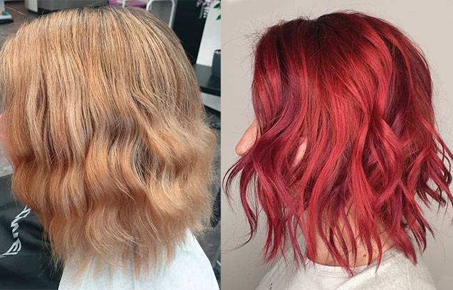 How To Dye Bleached Hair Red I Ll Help You Choose The Best Shade For Your Hair