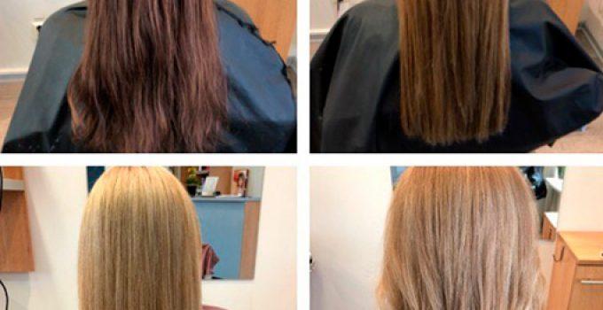 aclarar el pelo oscuro