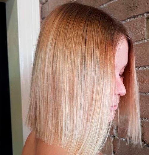 corte de pelo simple
