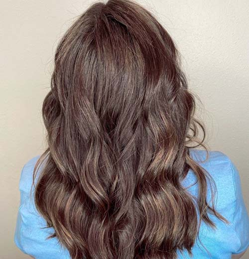 How To Blend Gray Hair With Dark Brown Hair The Right Way