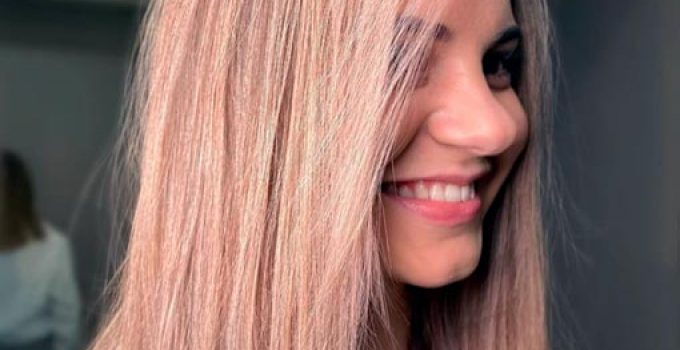 hair expels excess pigment