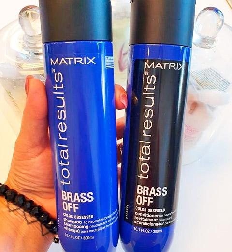 set de shampoo y acondicionador