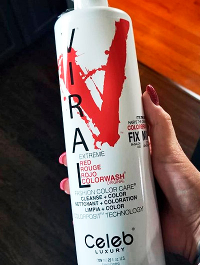 shampoo deposita pigmentos rojos