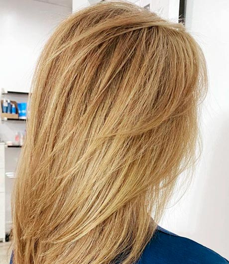 blonde dyed