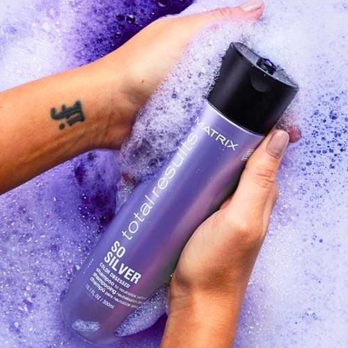 shampoo morado