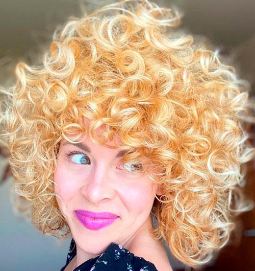 loosen the curls