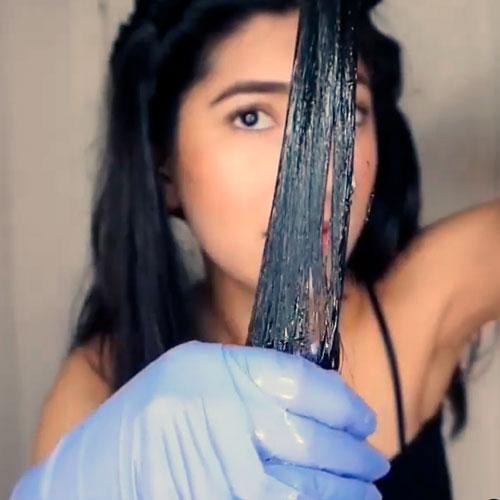 oliva para quitar tinte del pelo