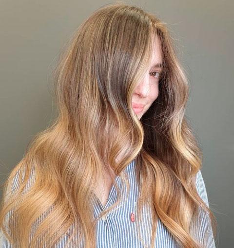warm or cool blonde depending on skin tone