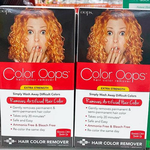 remover color artificial del pelo