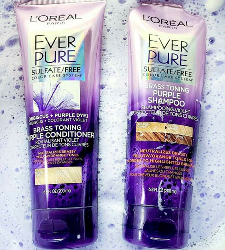 use in yellow hair after colour b4