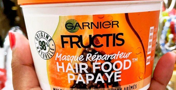 hair food papaya
