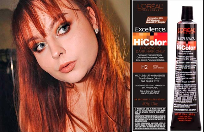 applying dye to already colored hair