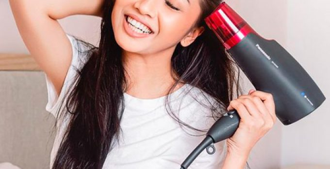 blow drying