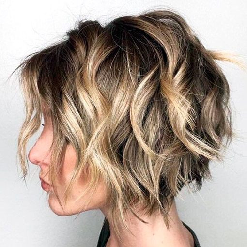 grown up pixie with highlights