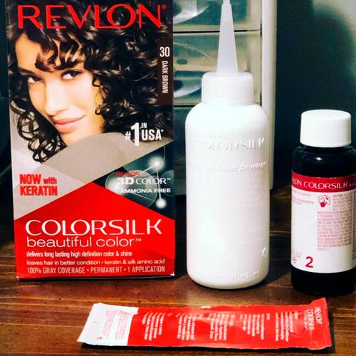 what does revlon colorsilk kit include