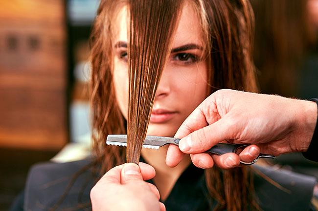 cortar el pelo despues de la keratina