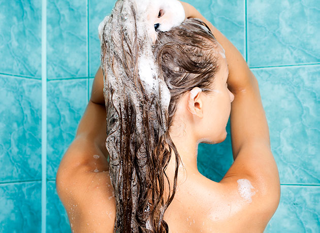 hair washing frequency