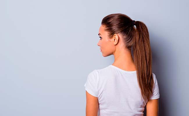 tied hair can cause hair loss