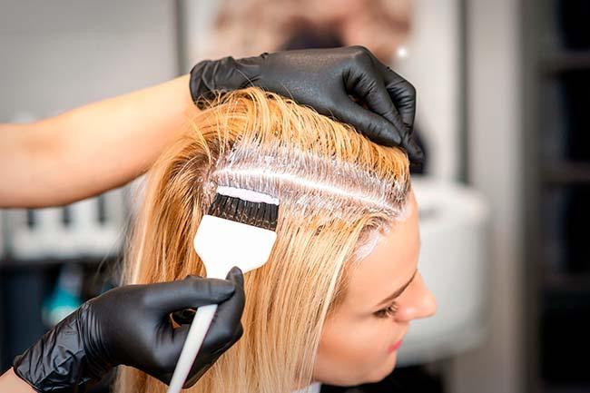 emparejar raices con el resto del cabello