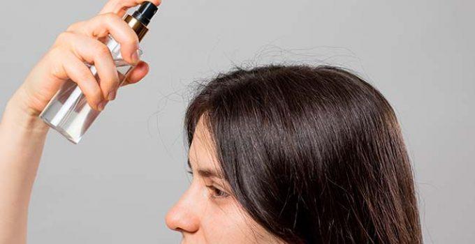 keratin treated hair