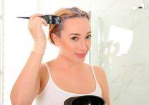 usar toner morado en pelo amarillo decolorado