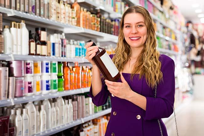 shampoo para lavar el pelo con reflejos