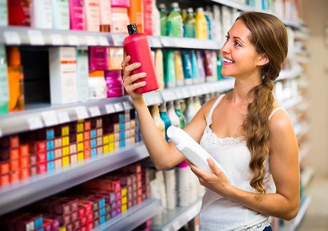shampoos producen residuos en el pelo