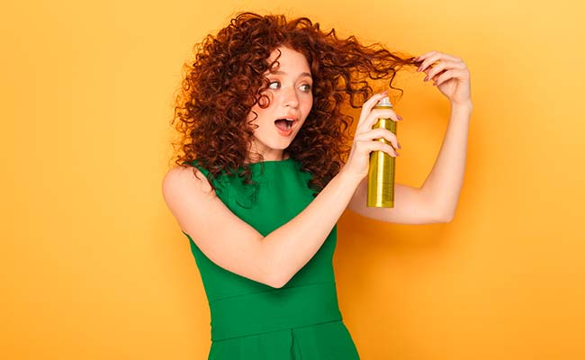 prevent the perm from curling