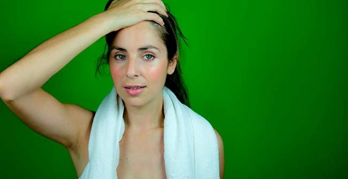 how does keratin treatment affect sweat