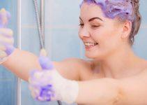 lavar pelo con shampoo despues del tinte